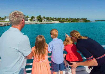 Exploring vistas on The Key West Glass Bottom Boat