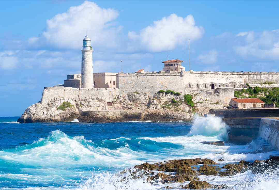 a Cuban fortress with Key West To Cuba