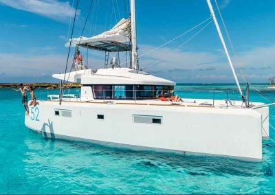 a couple vacations on a catamaran charter with Key West Yachts