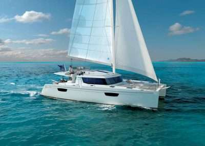 a catamaran cruises with stay on a boat in Key West