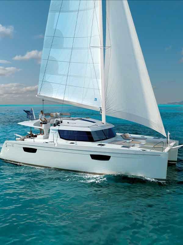 Key West Sailing sailboat makes way
